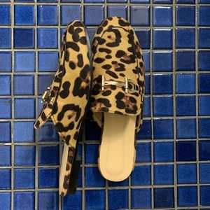 Shoes - Leopard print loafers